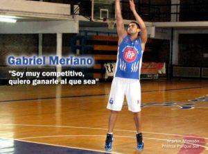 Gabriel Meriano ya se entrena con Parque sur