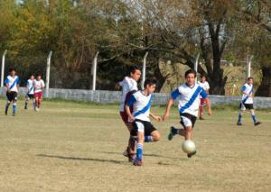 Fútbol Infantil en cancha de Don Bosco