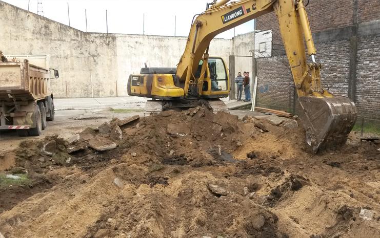 Primeras excavaciones
