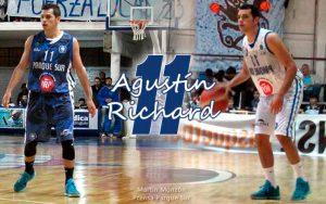 """Agustín Richard: """"Ganar de visitante nos vendría muy bien"""""""