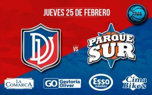 Deportivo Viedma vs Parque Sur, por DEPORTV