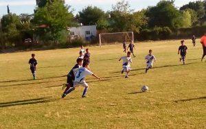 Ya están los horarios de Infantojuveniles de futbol de Parque Sur