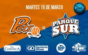 Petrolero Argentino y Parque Sur van por la tercera
