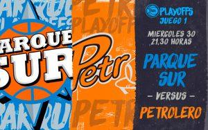 Parque Sur vs Petrolero comienzan a definir la serie