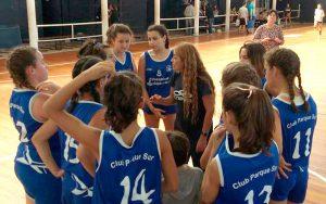 Las intermedias femenino jugó en Paraná