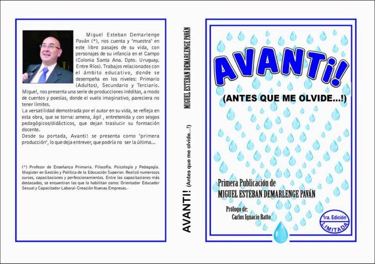 Invitación a la presentación del libro Avanti!