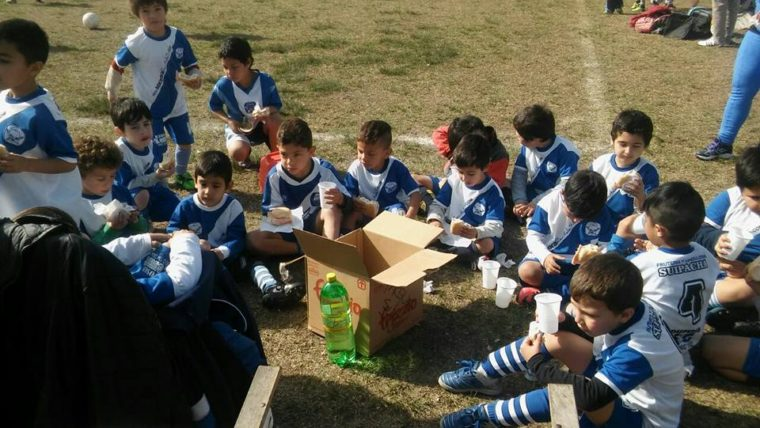 Los Sureñitos disfrutaron de otro torneo de fútbol