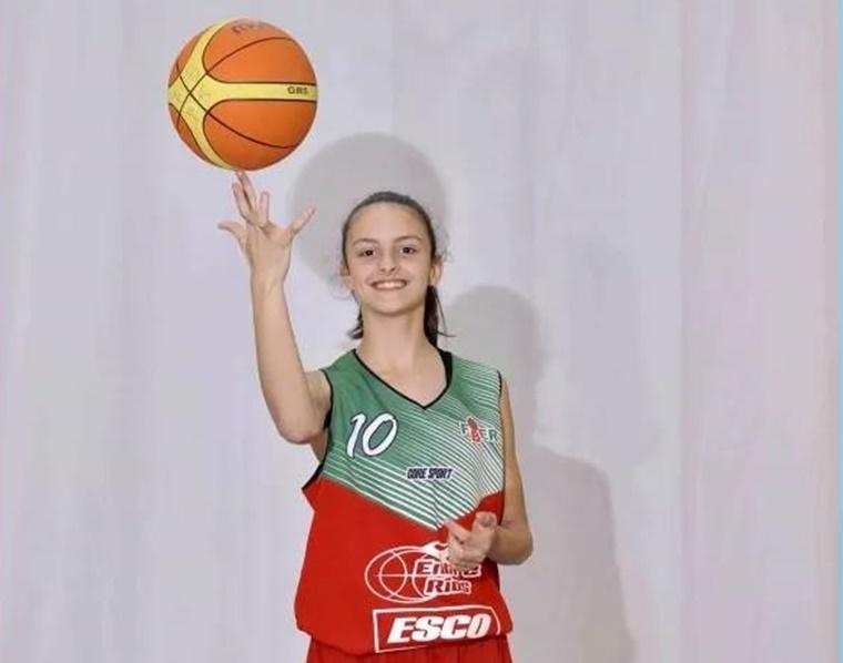 Clara Montañana al Selectivo Jr. NBA