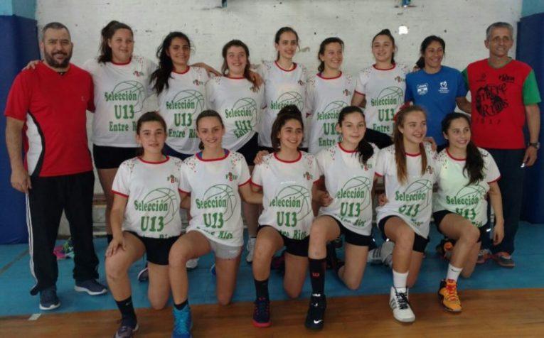 El Argentino U13 con la Selección