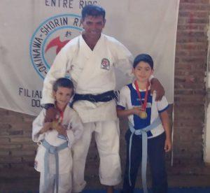 Karate-do: primeros puestos en Villa Elisa