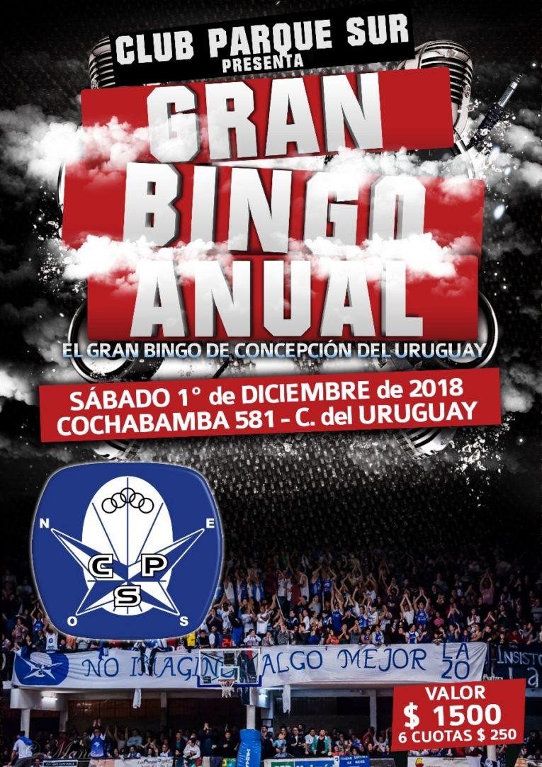El segundo Gran Bingo Anual del club