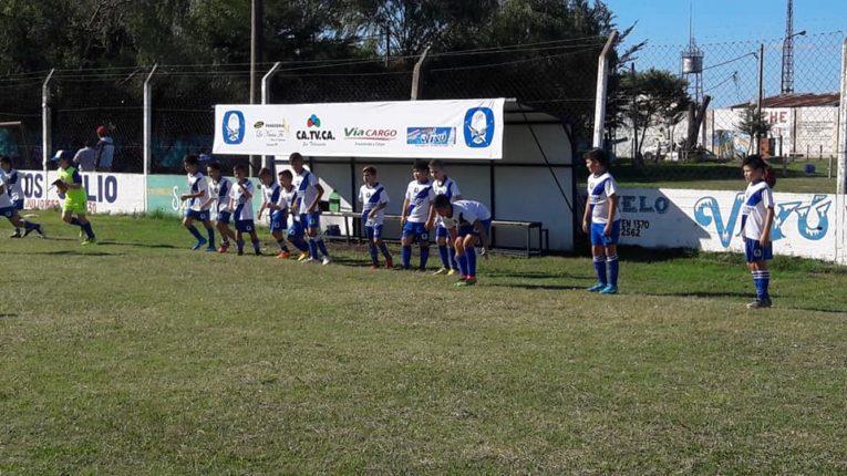 Fútbol infantil: Los gurises comenzaron el Apertura