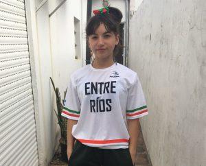 Micaela Quiroga rumbo al Argentino U15