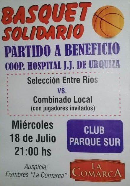 Partido solidario a beneficio del Hospital