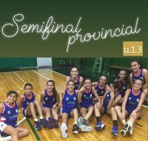 La U13 se prepara para las semifinales