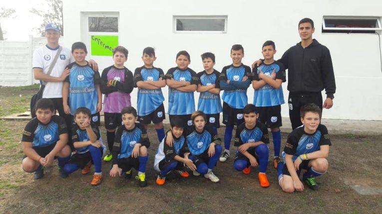 El fútbol infantil jugó el Decanito 2018