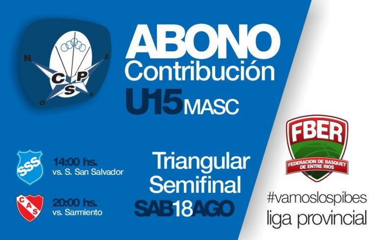 Los U15, el sábado por semifinales