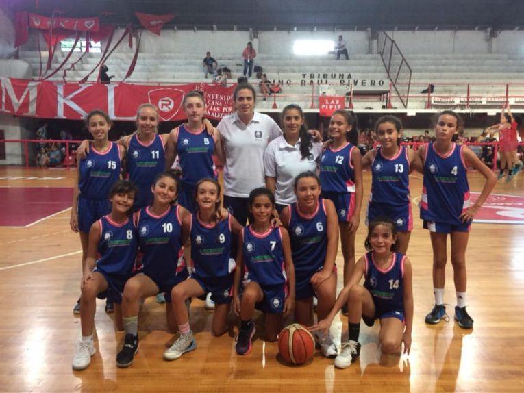 Las U13 juegan las semis en Paraná
