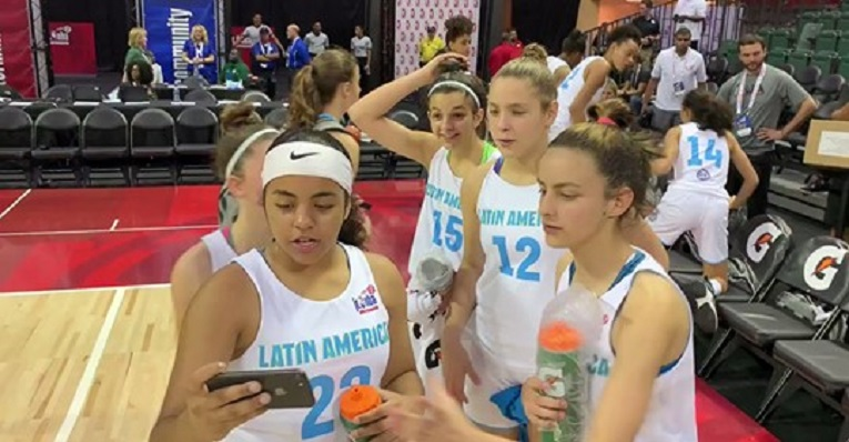 Clara busca la final del Mundial Jr. NBA