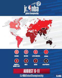NBA MAPA