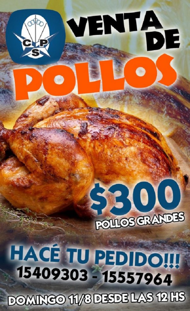Venta de pollos para este domingo