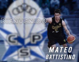Mateo Battistino, el U23 de Parque