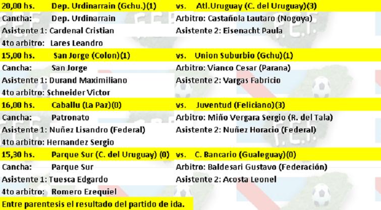 Busca las semifinales de la «Copa Entre Ríos»