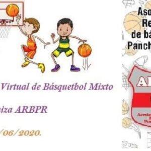 Encuentro virtual mixto de básquet