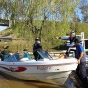 Se prohibió la salida recreativa de embarcaciones