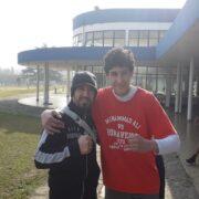 Ernesto, con las alas de Pocho y los guantes de un campeón del mundo