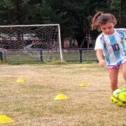 El fútbol femenino se sumó al regreso de las actividades deportivas en el club